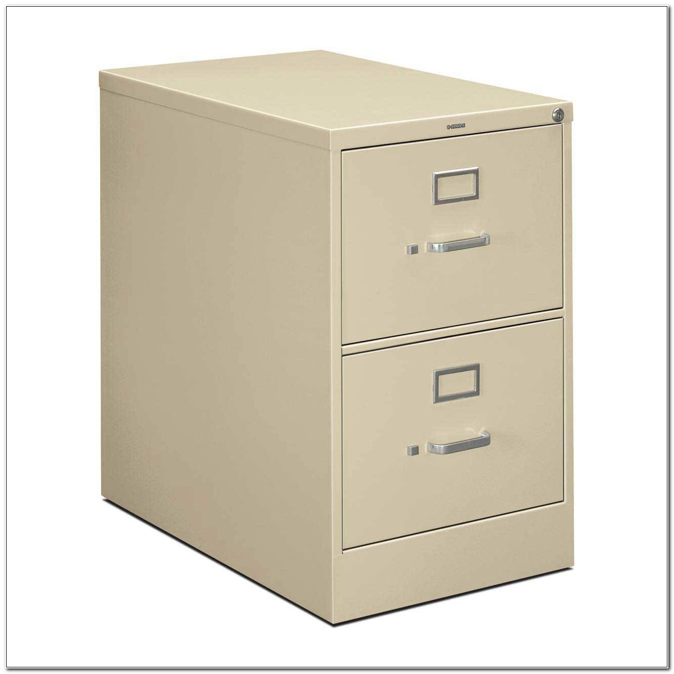 2 Drawer File Cabinet Metal Used