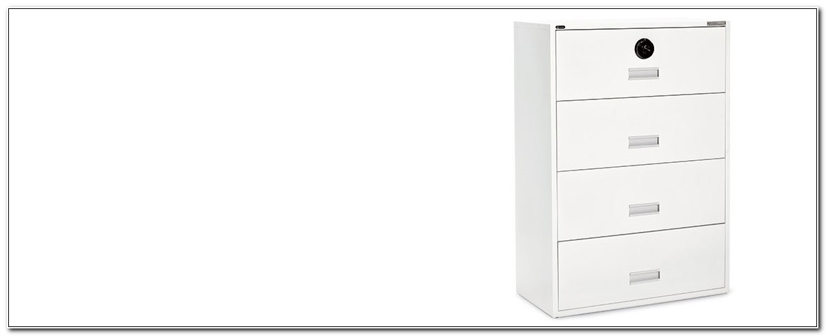 2 Drawer File Cabinet With Combination Lock