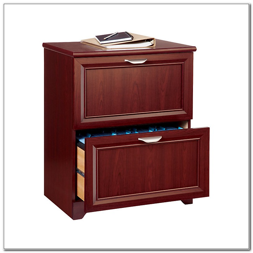 2 Drawer Lateral File Cabinet Cherry