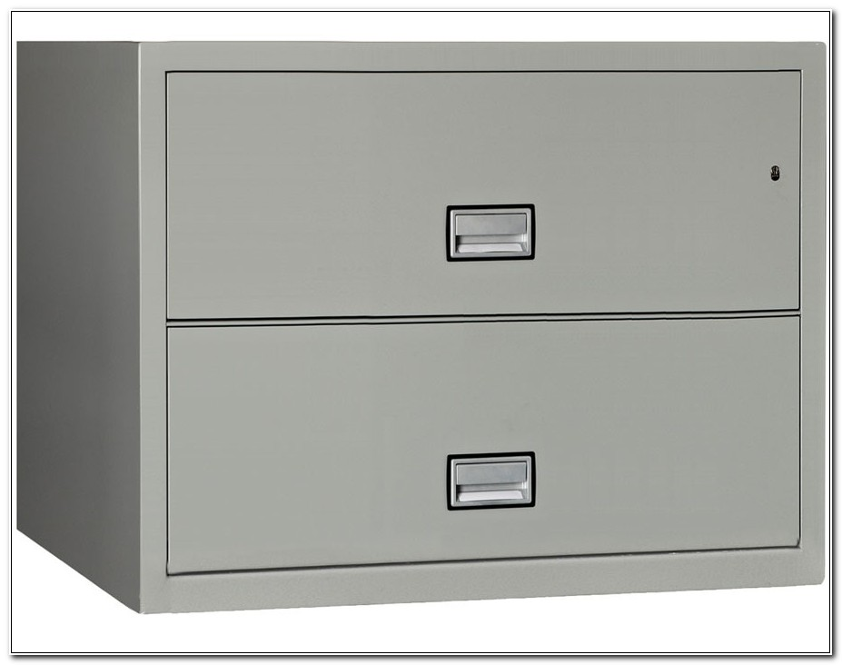 2 Drawer Lateral Fireproof File Cabinet