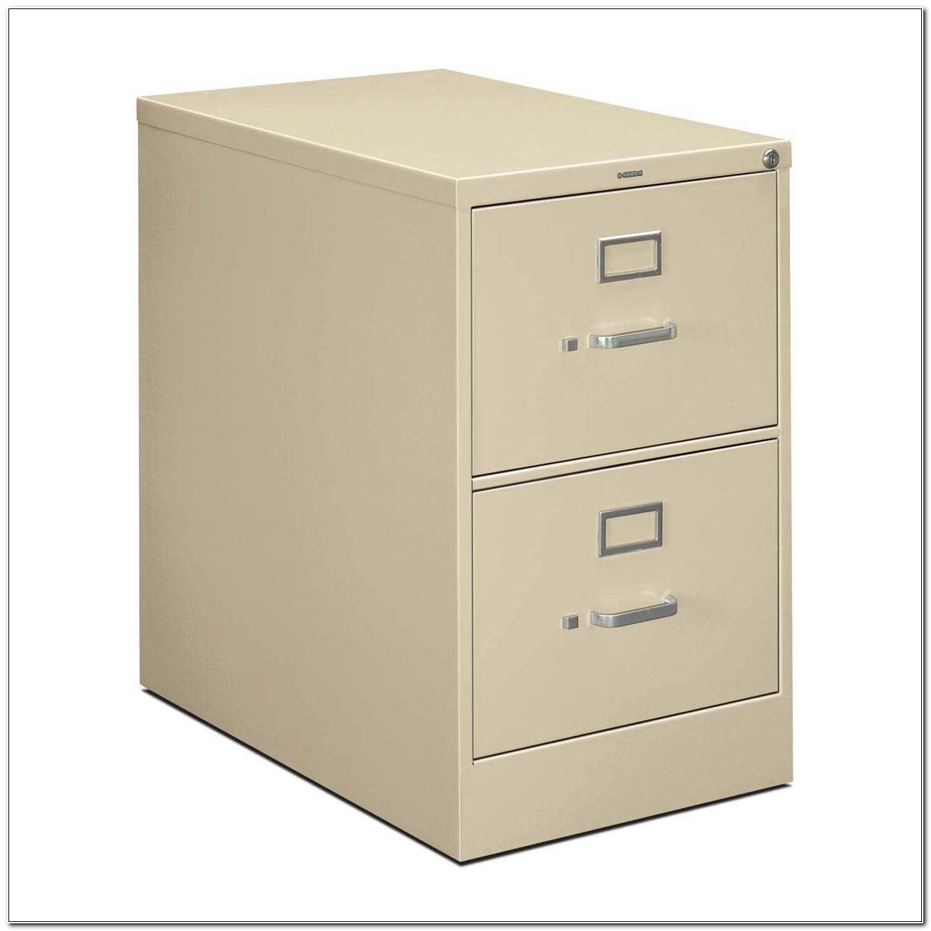 2 Drawer Locking Filing Cabinet