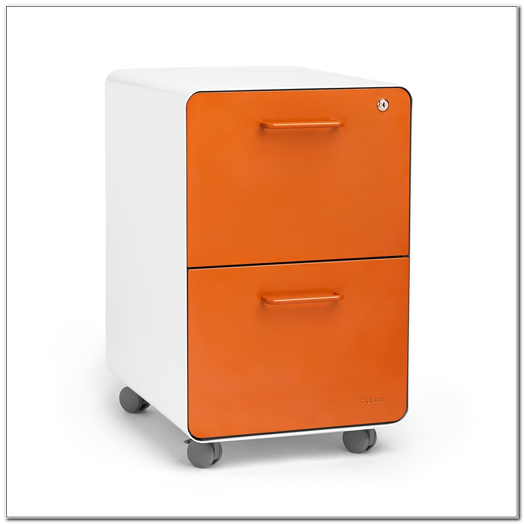 2 Drawer Rolling File Cabinet