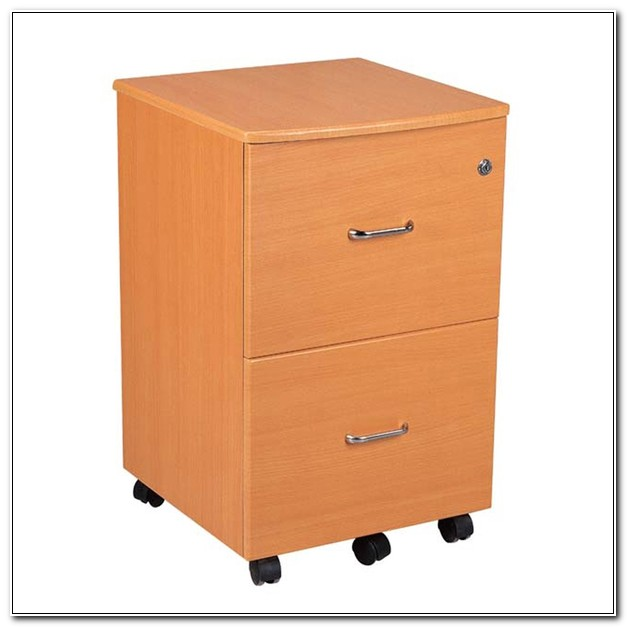 2 Drawer Vertical File Cabinet With Lock