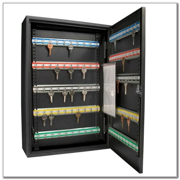 200 Key Cabinet With Combination Lock