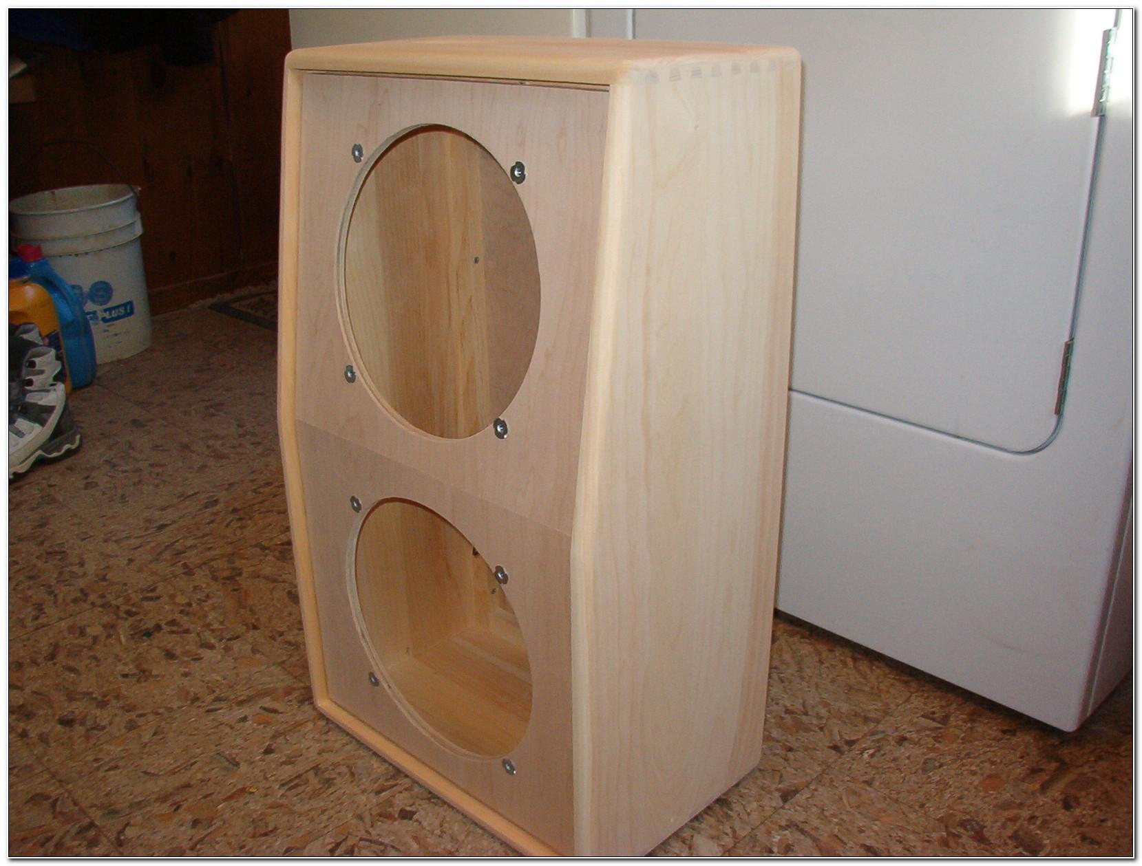 2x12 Guitar Speaker Cabinet Design