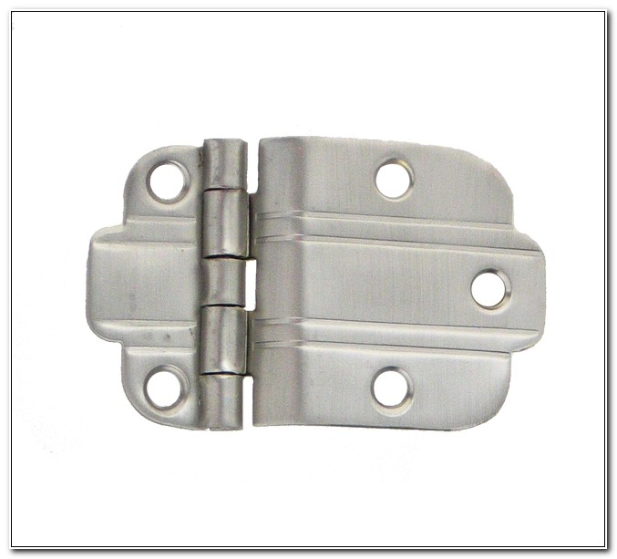 3 8 Offset Cabinet Hinges Satin Nickel