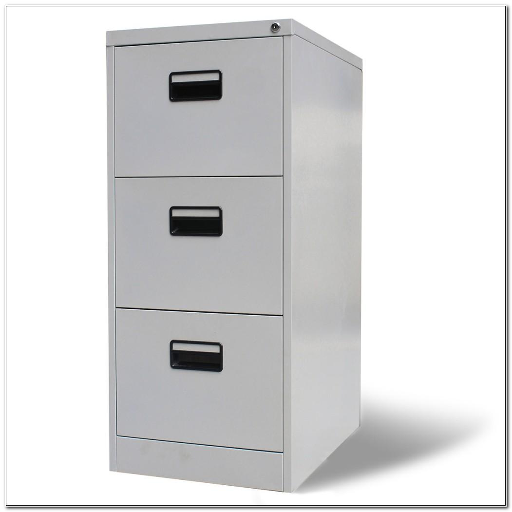 3 Drawer File Cabinet Metal