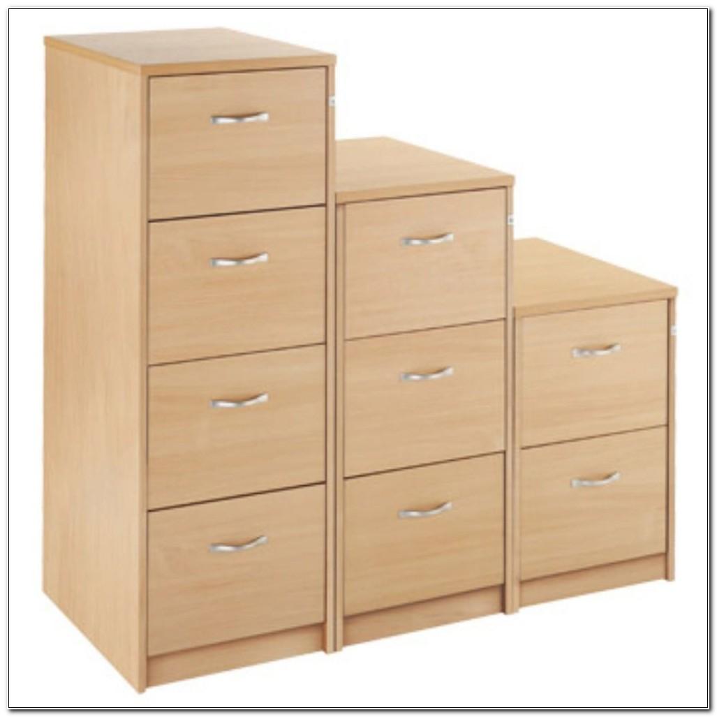 3 Drawer Filing Cabinet Wood