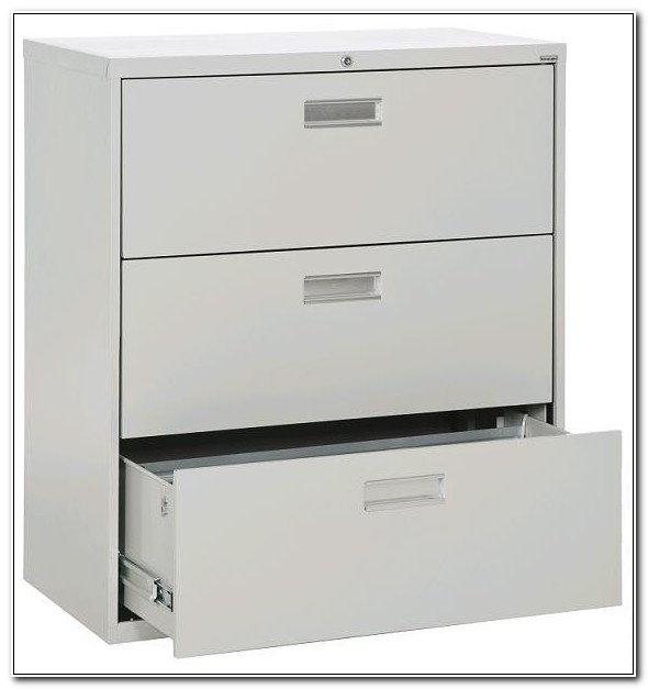 3 Drawer Lateral File Cabinet 36