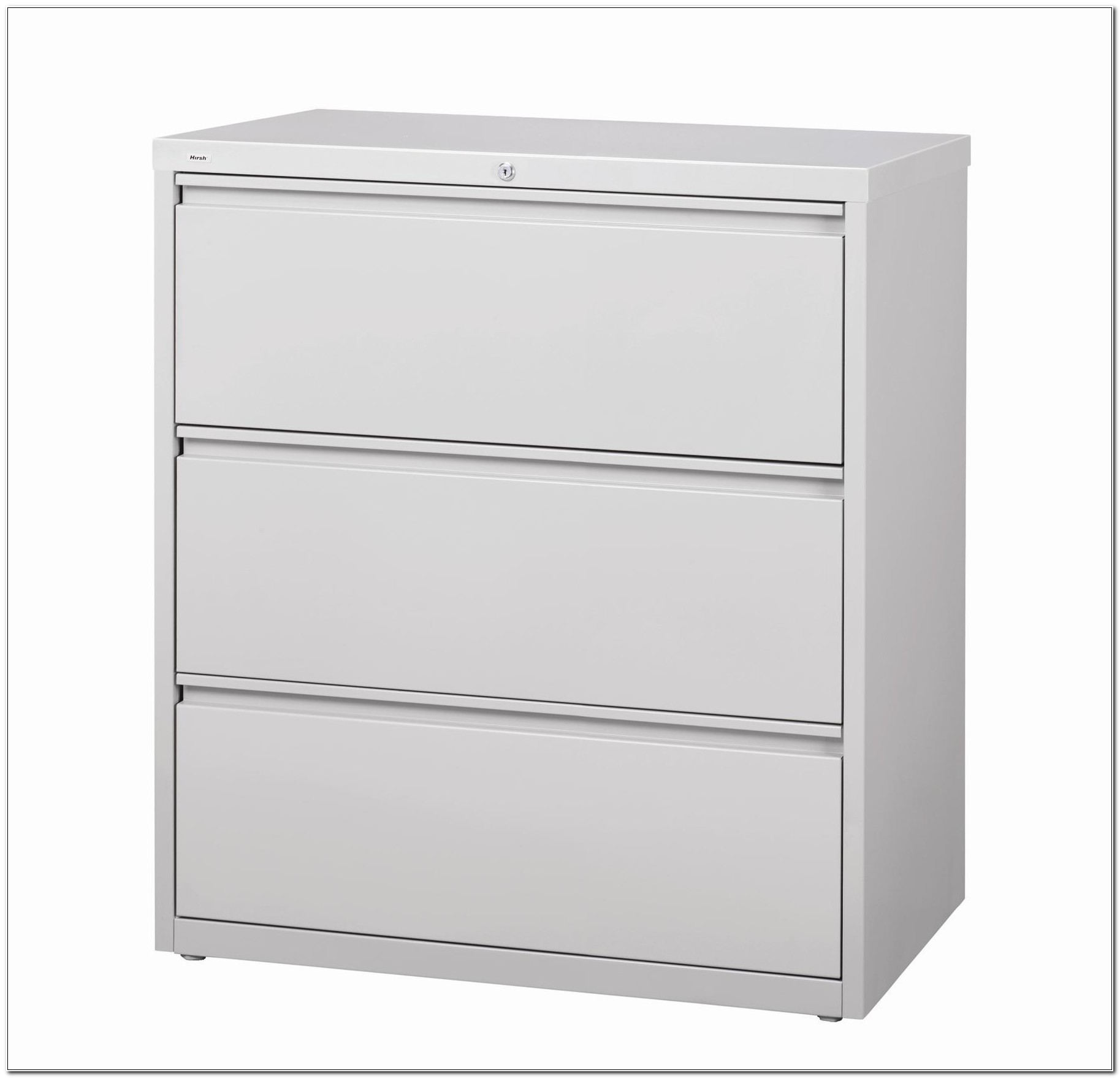 3 Drawer Lateral File Cabinet White