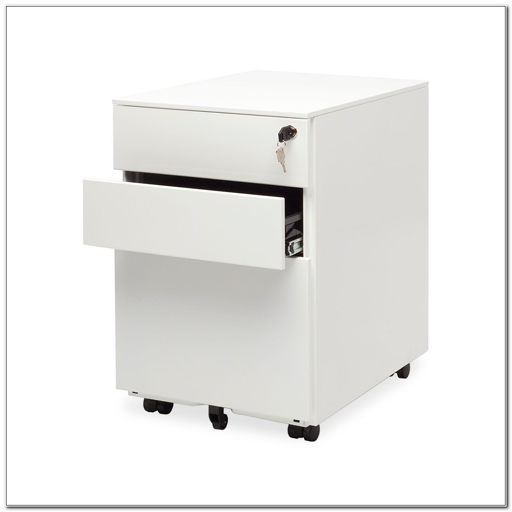 3 Drawer Metal File Cabinet On Wheels