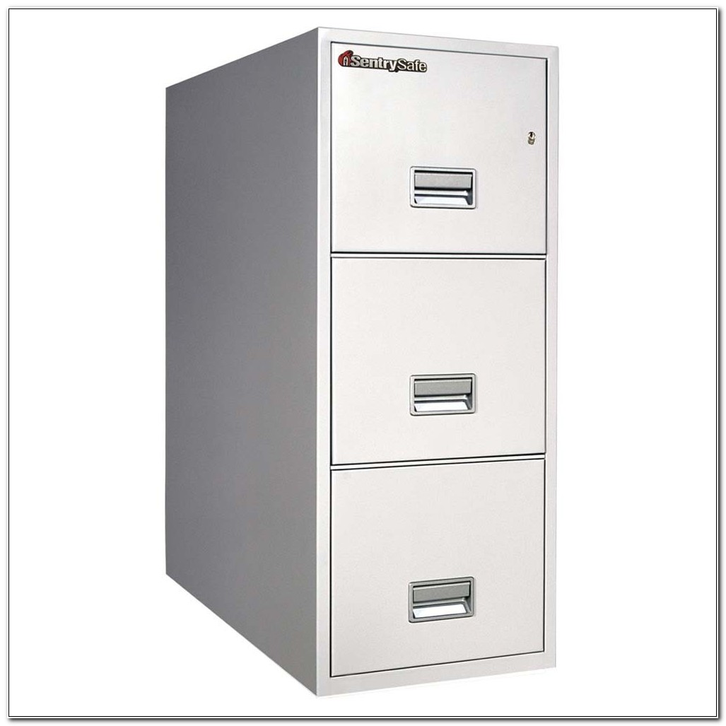 3 Drawer Vertical File Cabinet With Lock