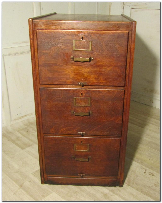 3 Drawer Wooden Filing Cabinet Uk