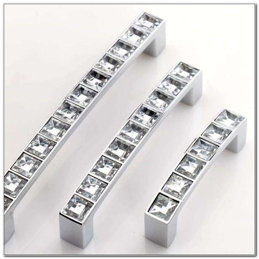 3 Inch Crystal Cabinet Handles