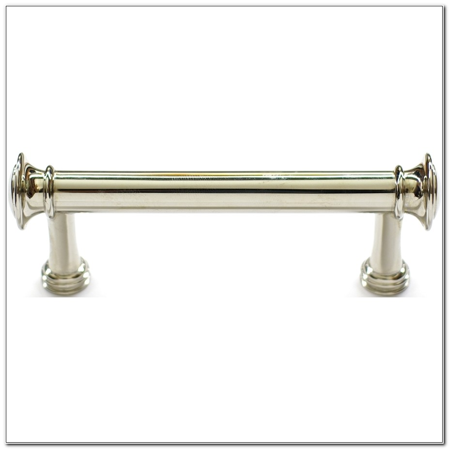 3 Polished Nickel Cabinet Pulls