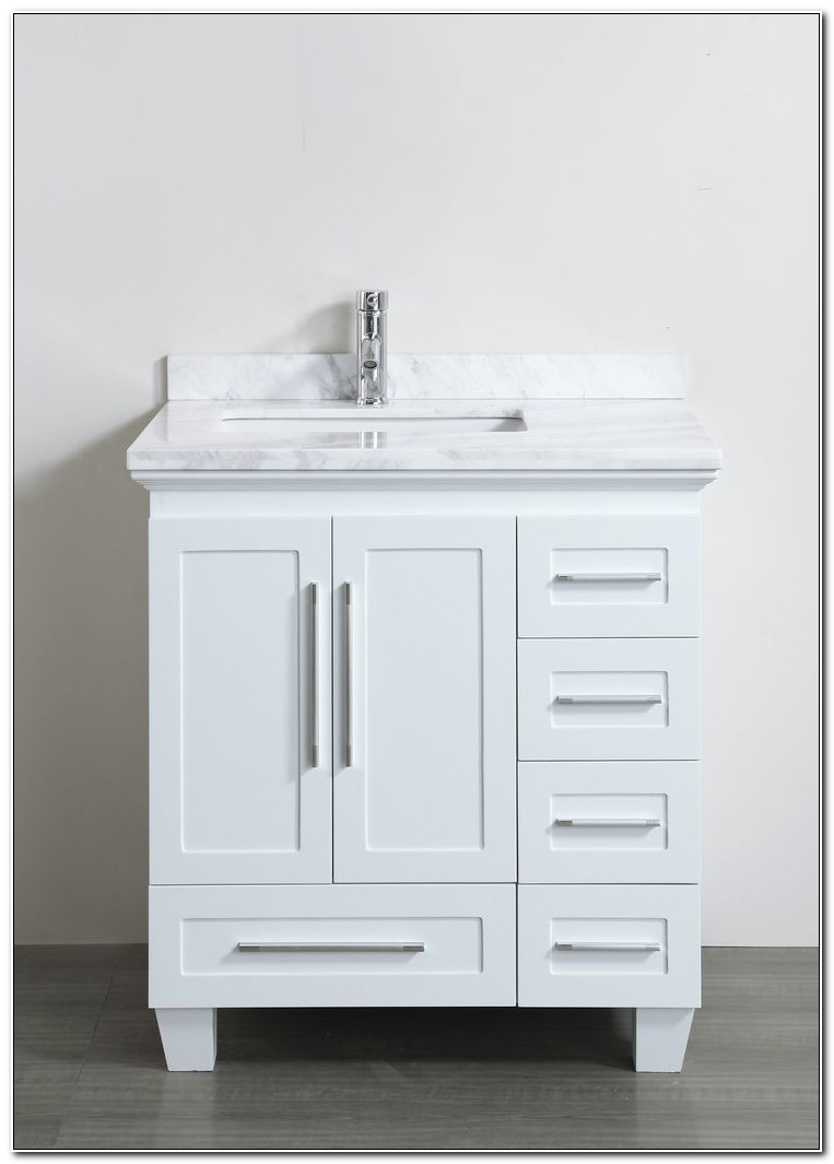 30 Inch Bathroom Vanity Cabinet With Drawers