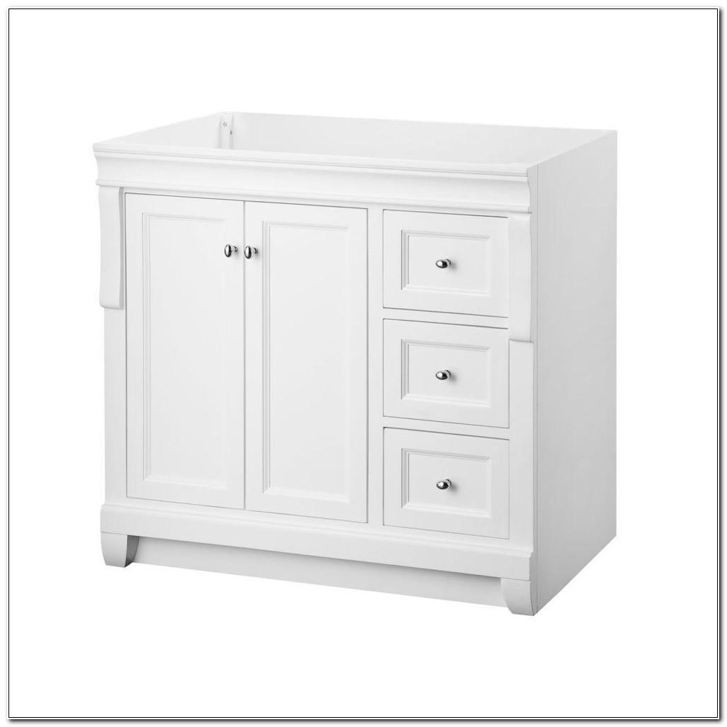 36 Bathroom Vanity Cabinet White