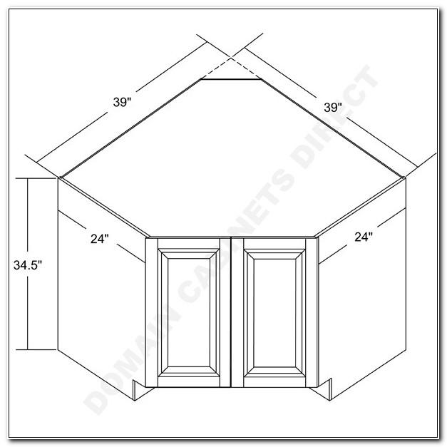 36 Corner Sink Base Cabinet Dimensions