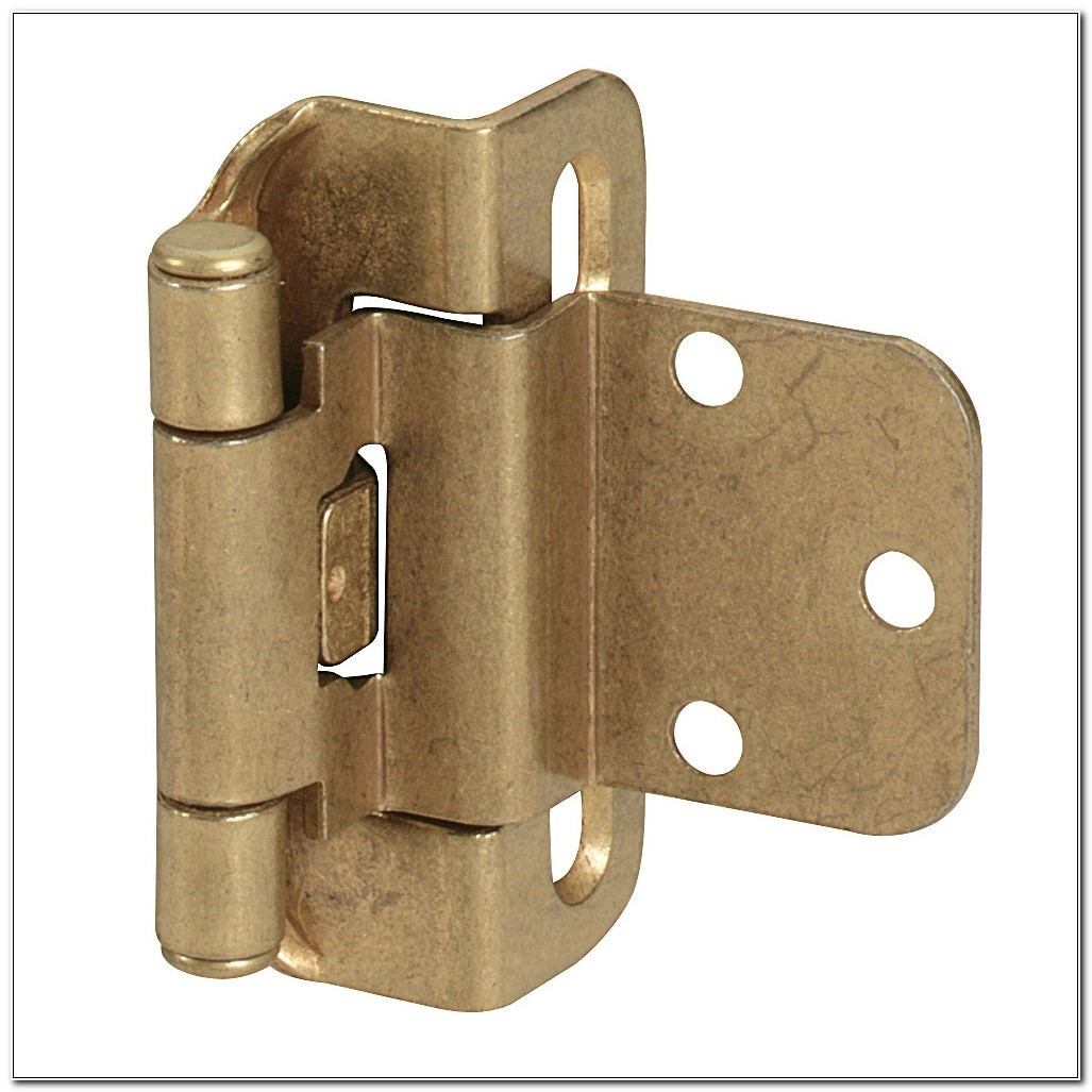 38 Inset Self Closing Cabinet Hinges