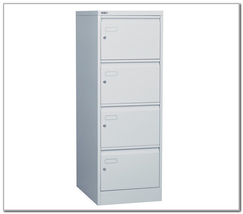 4 Drawer File Cabinet With Lock