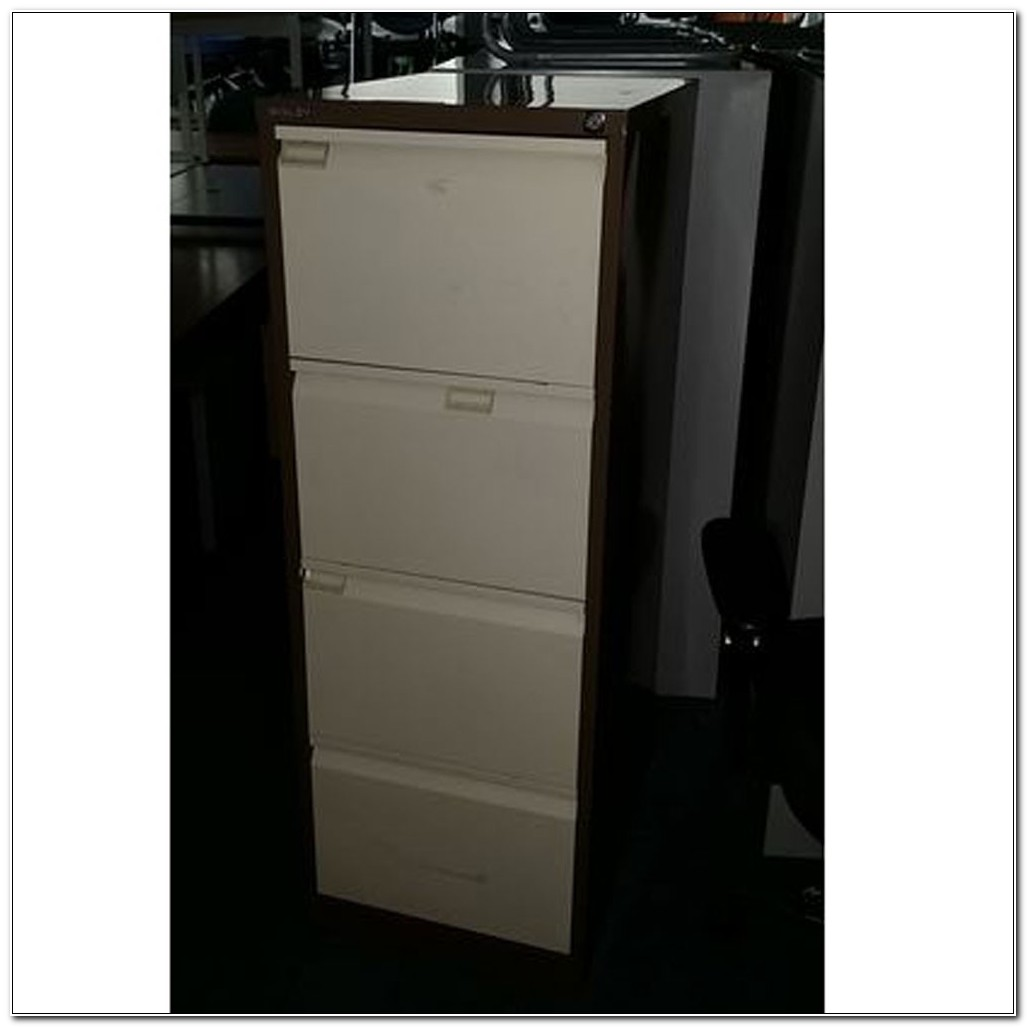 4 Drawer Filing Cabinets Second Hand