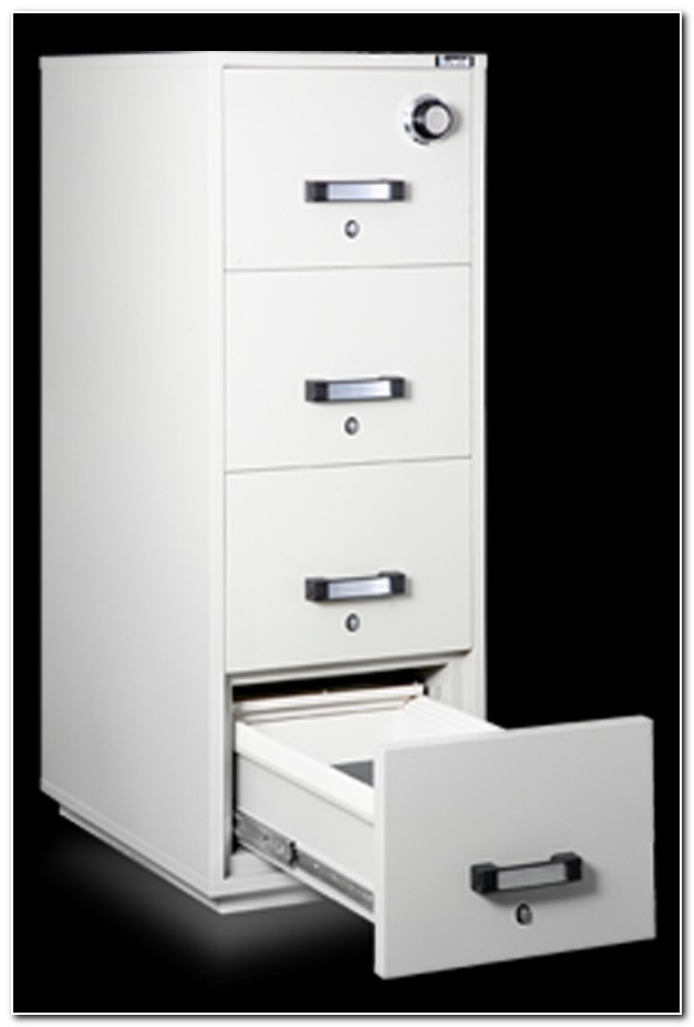 4 Drawer Fire Resistant File Cabinet