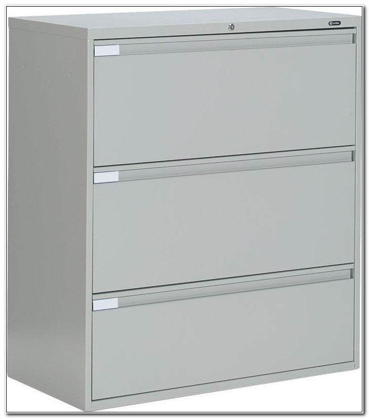 4 Drawer Lateral File Cabinet Metal