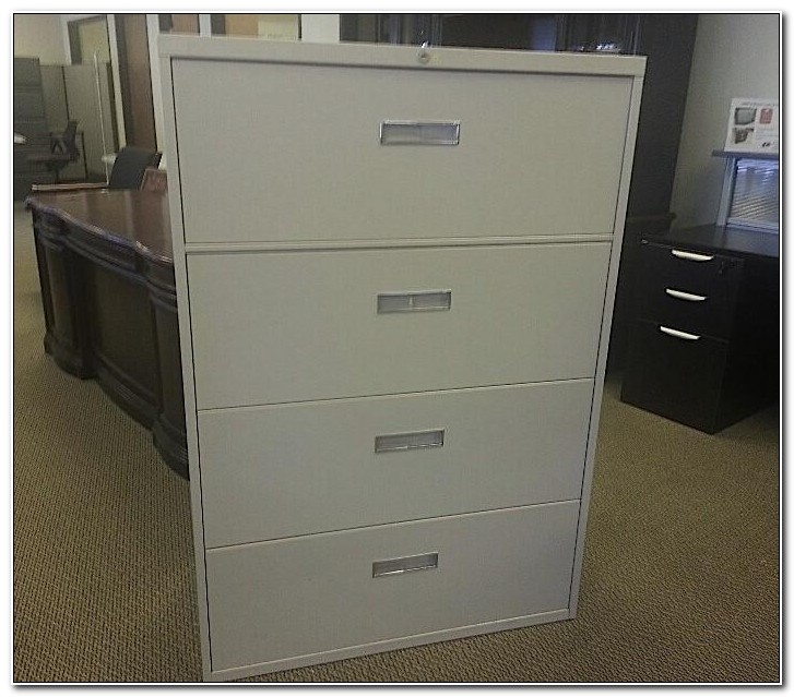 4 Drawer Lateral File Cabinet Used