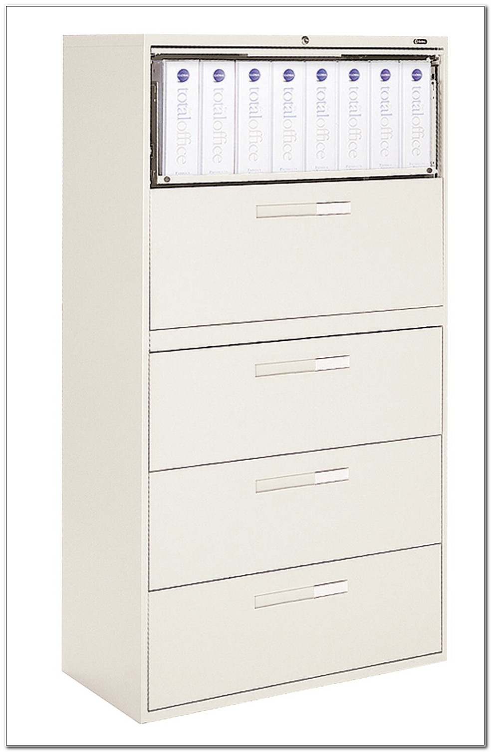 4 Drawer Lateral File Cabinet With Lock