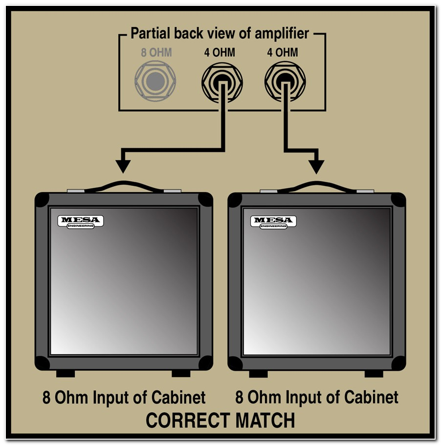 4 Or 8 Ohm Bass Cabinet