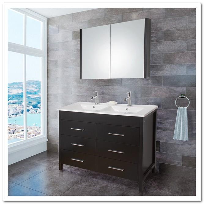 48 Double Sink Vanity Cabinet