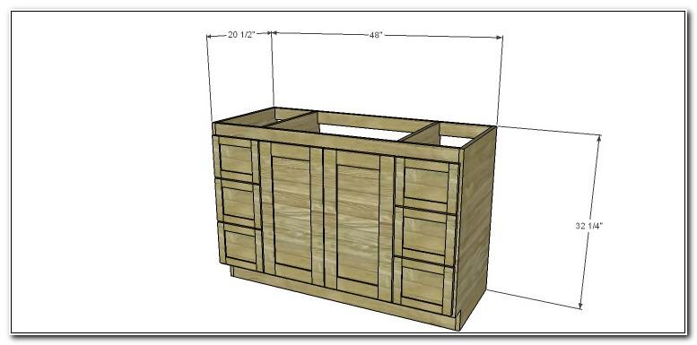48 Inch Vanity Cabinet Plans