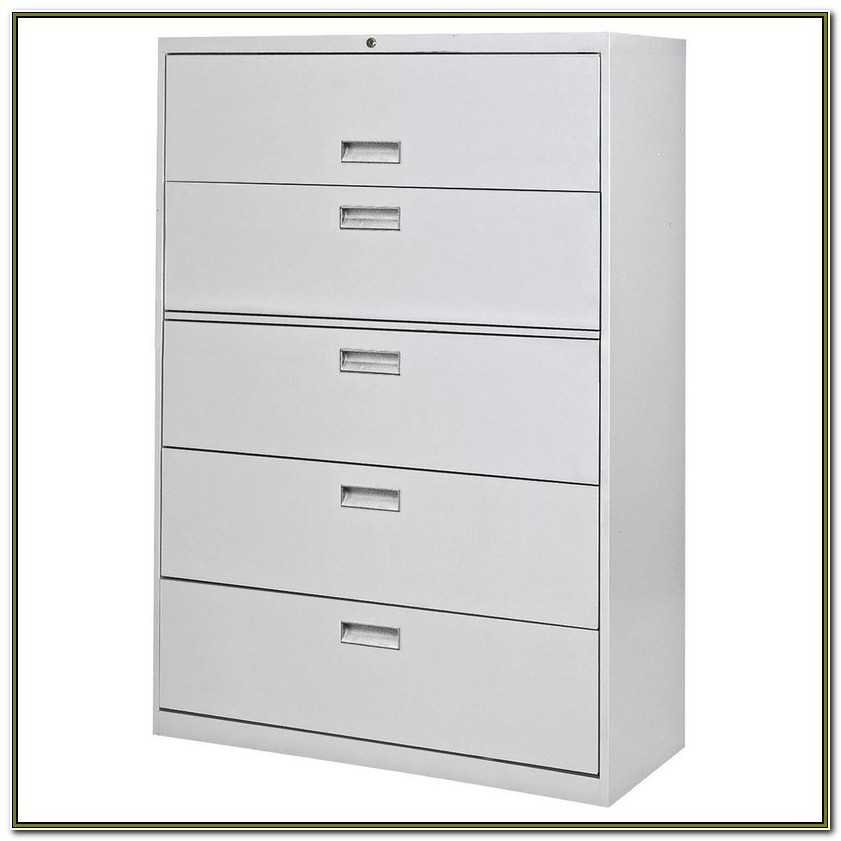 5 Drawer File Cabinet Used