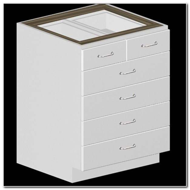5 Drawer Kitchen Base Cabinet