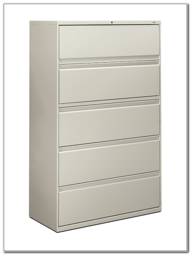 5 Drawer Lateral File Cabinet Hon