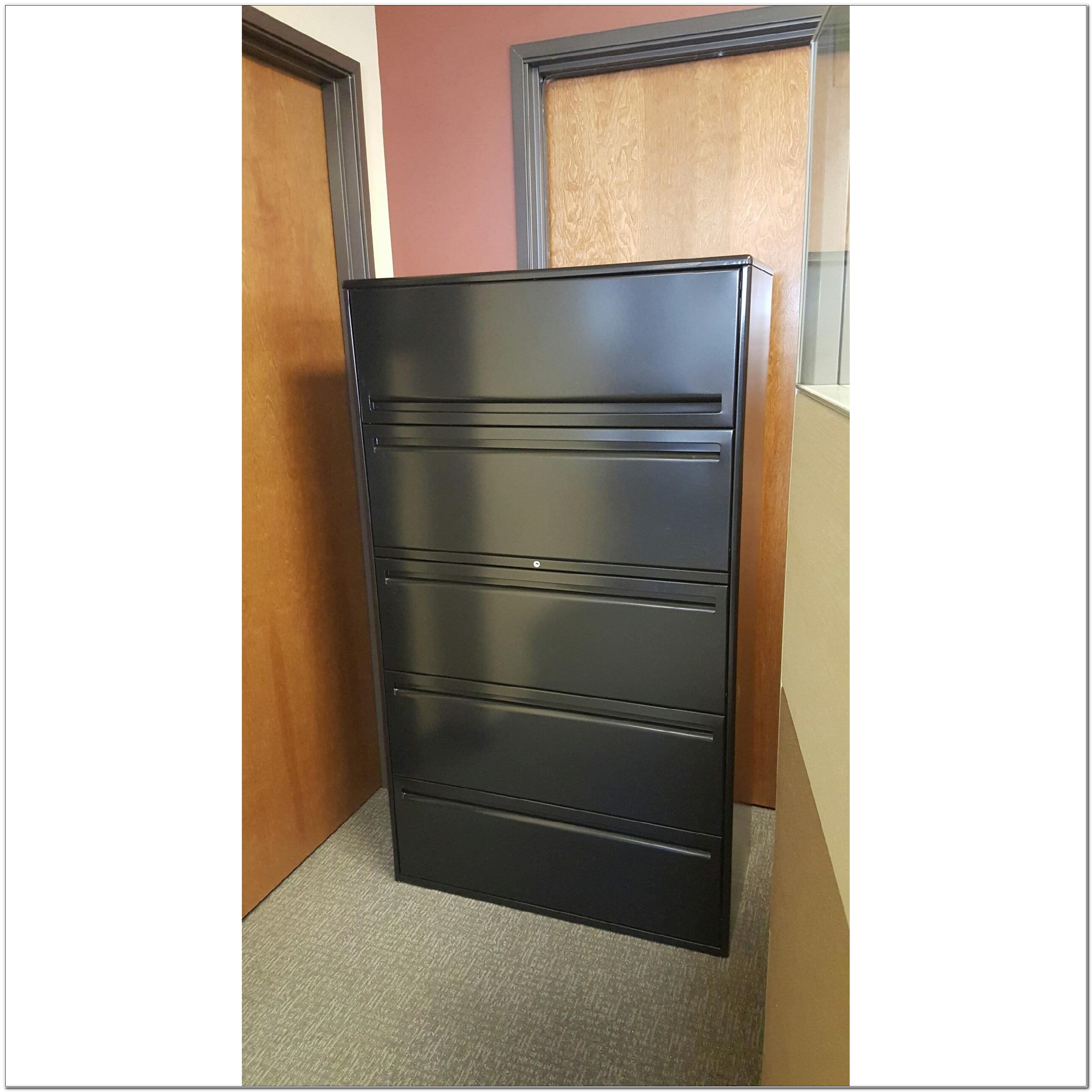 5 Drawer Lateral File Cabinet Used