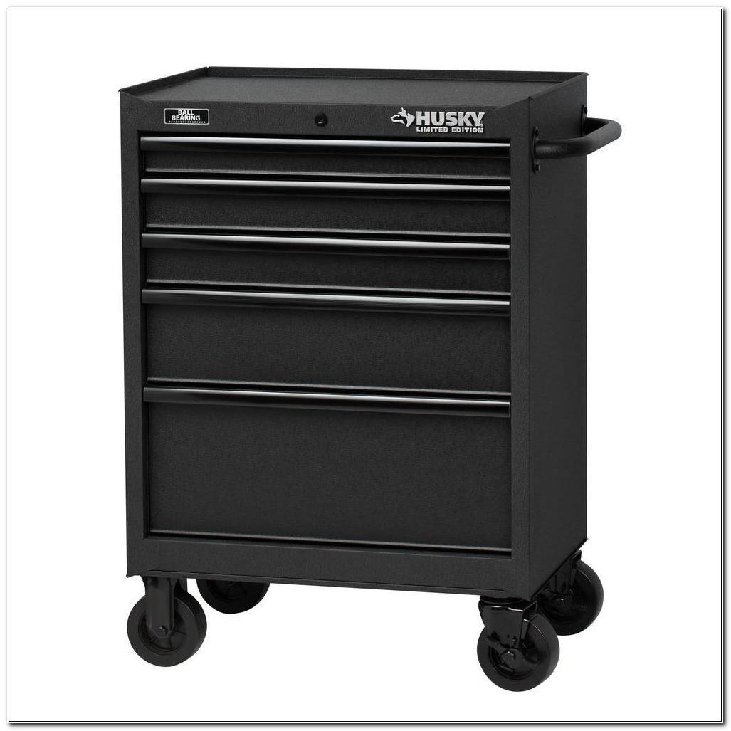5 Drawer Tool Cabinet On Wheels
