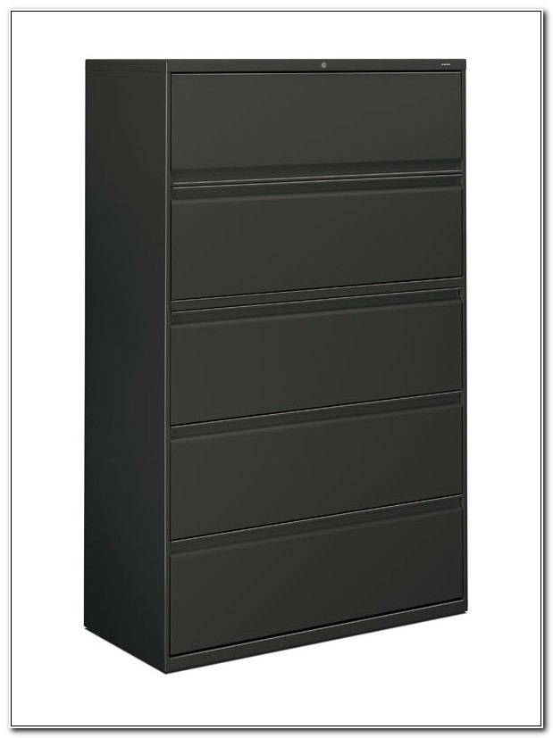 5 Drawer Wood Lateral File Cabinet