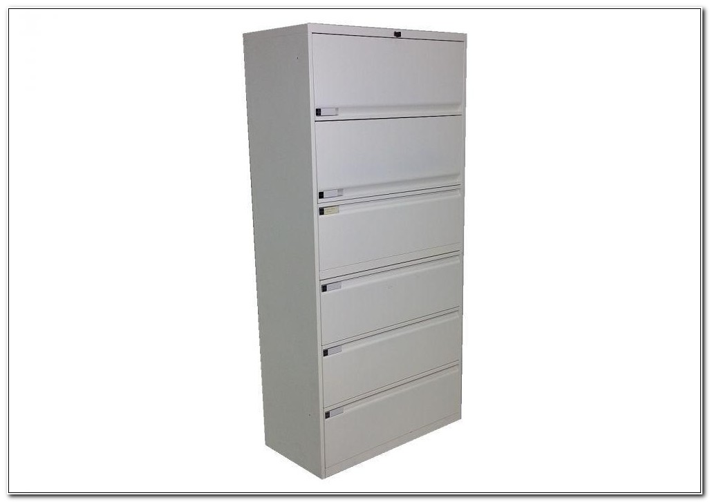 6 Drawer Lateral File Cabinet Used
