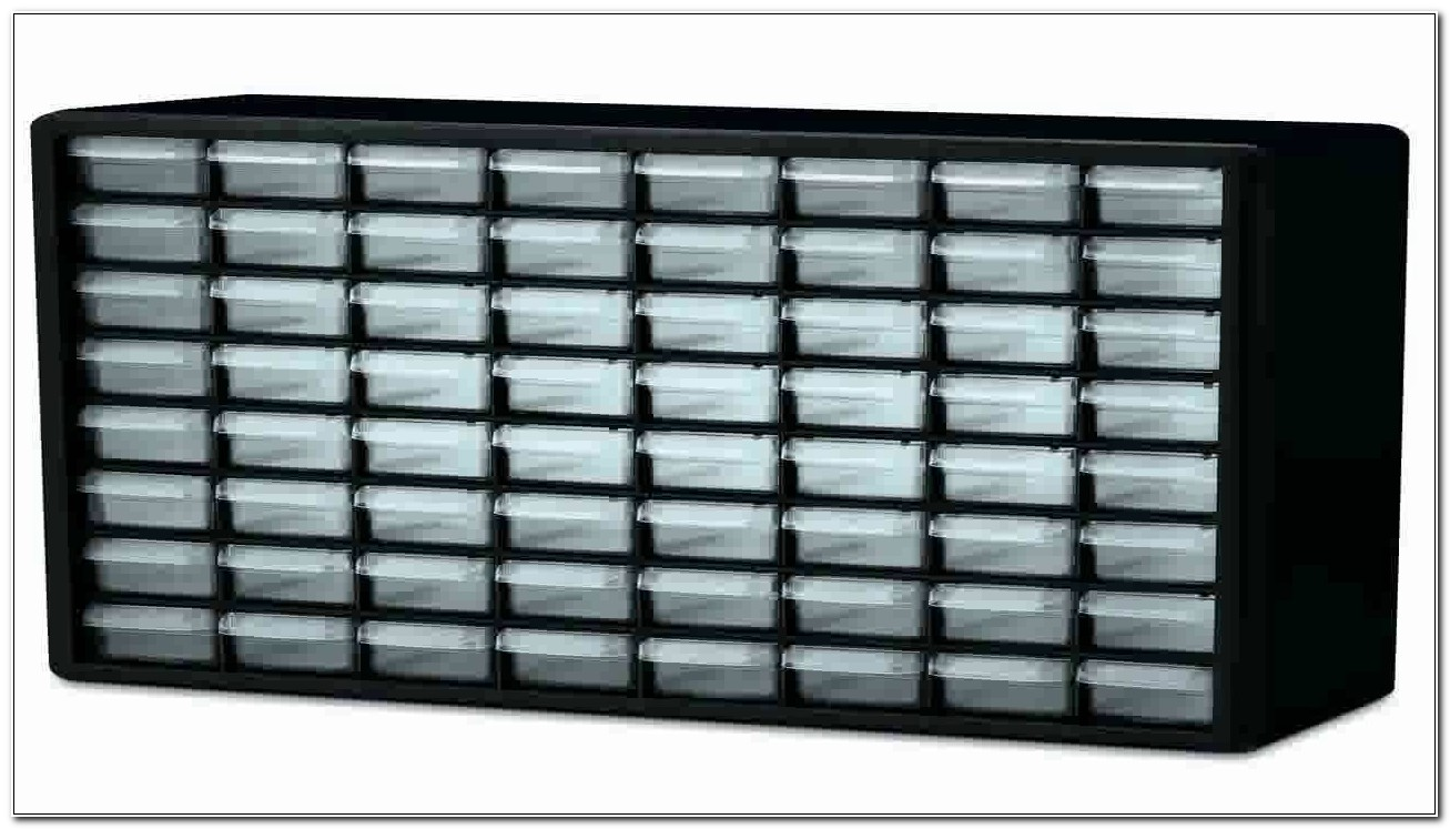 64 Drawer Plastic Storage Cabinet