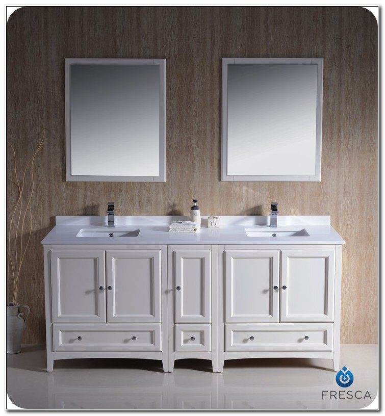 72 Inch Double Vanity Cabinets