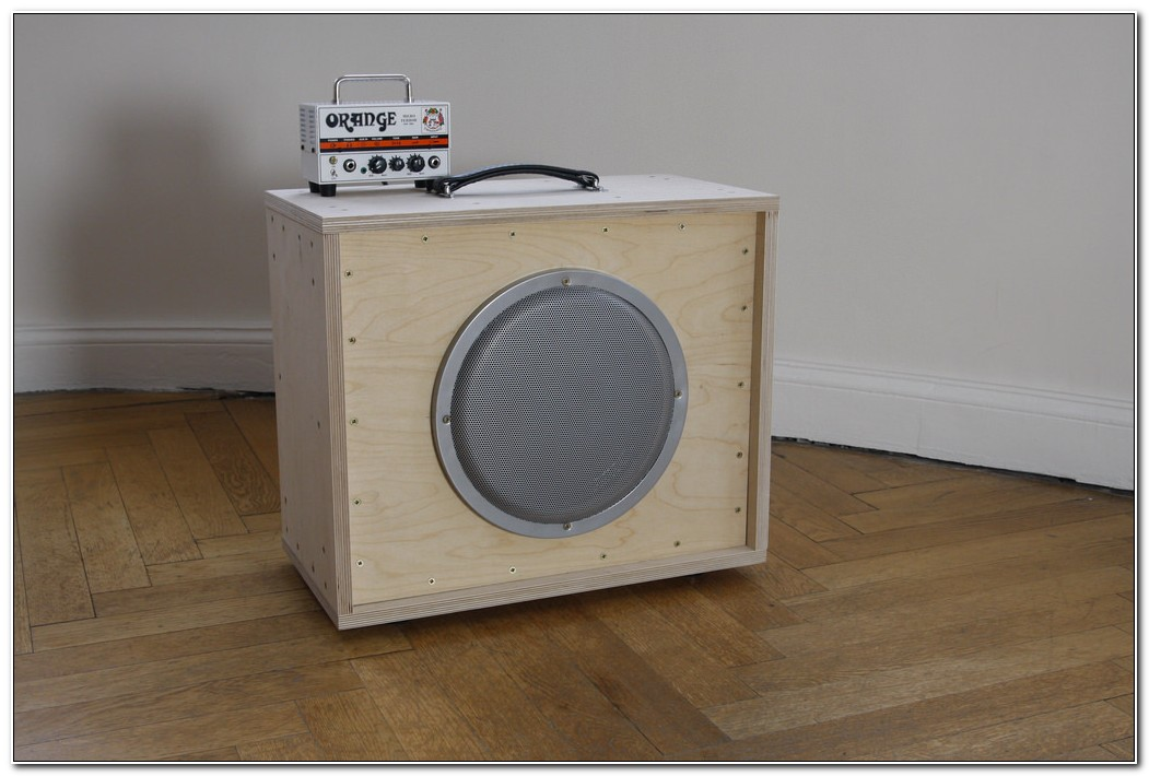 8 Inch Guitar Speaker Cabinet Plans