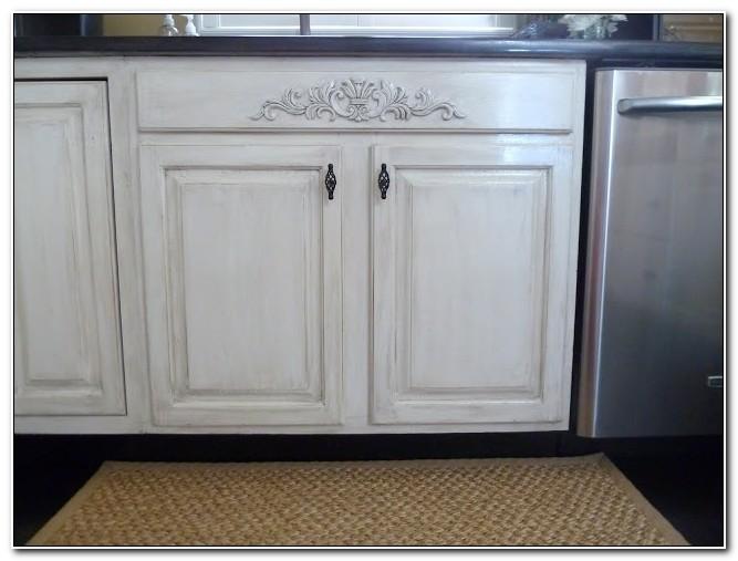 Add Decorative Moulding Kitchen Cabinets
