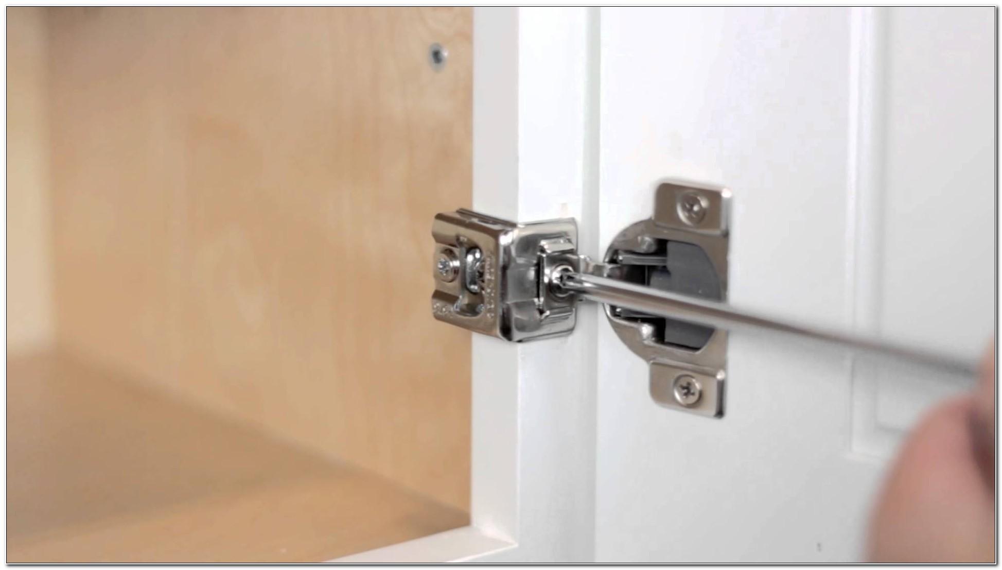 Adjusting Self Closing Cabinet Door Hinges