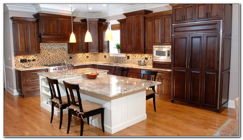 Alder Wood Cabinets Kitchen