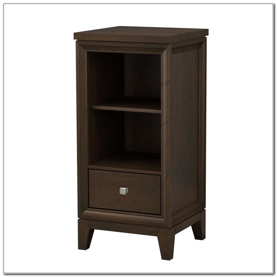 Allen Roth Caterton Java Linen Cabinet