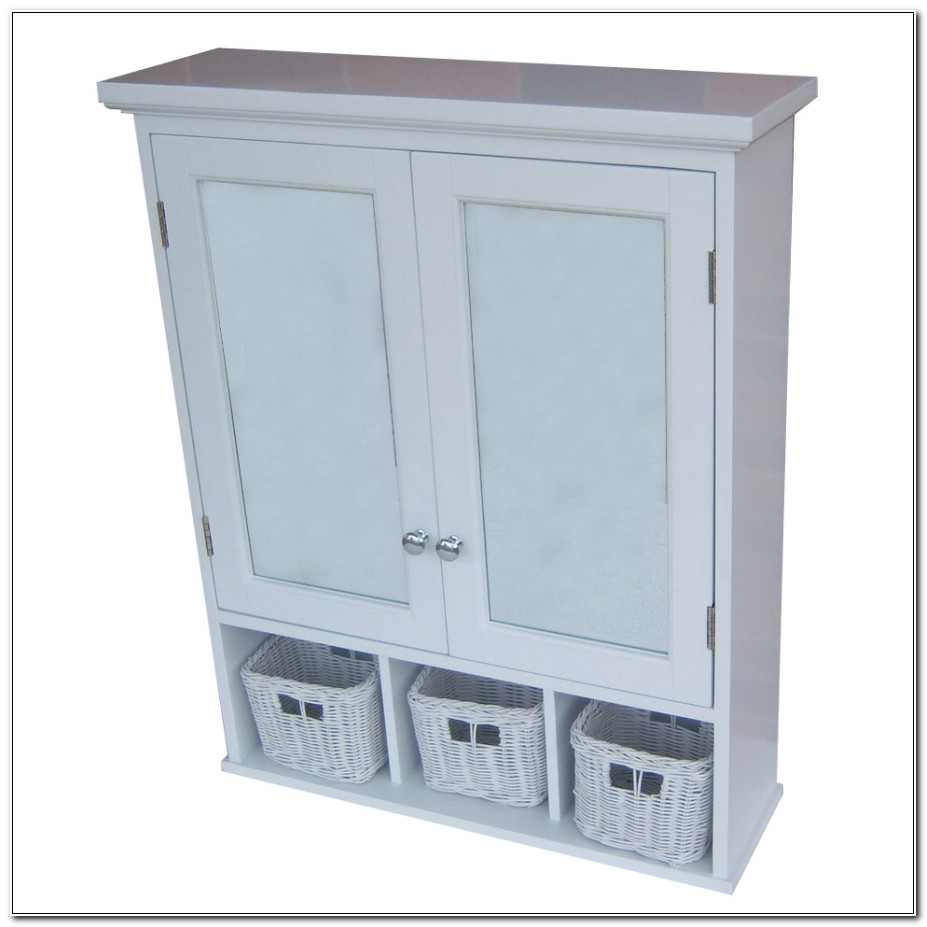 Allen Roth White Surface Mount Medicine Cabinets