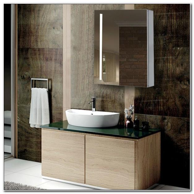 Amaze Led Illuminated Bathroom Mirror Cabinet