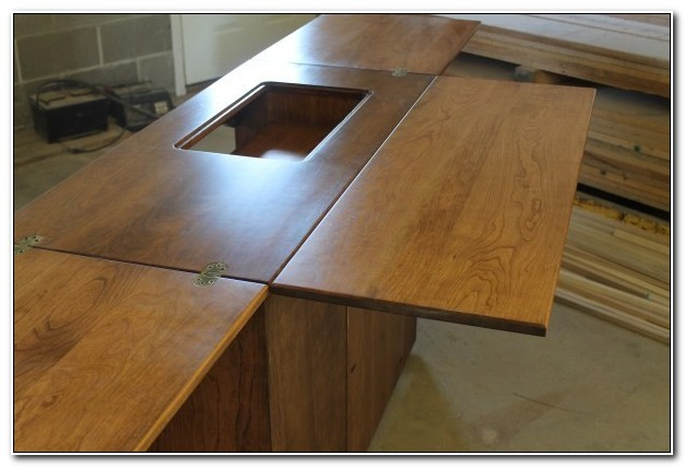 Amish Made Sewing Machine Cabinet