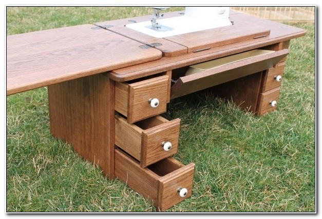Amish Sewing Machine Cabinets